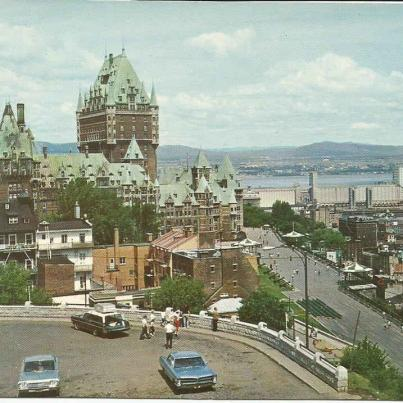 Quebec, View from the heights of Cape Diamond