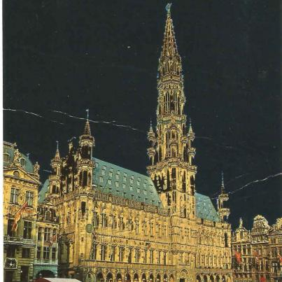 Brussels, Grand Square & Town Hall