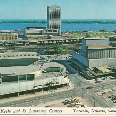 Toronto, O'Keefe and St. Lawrence Centres