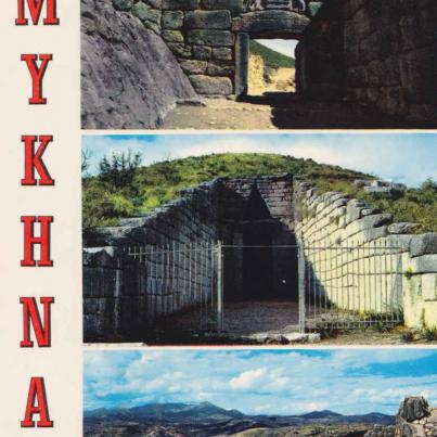 Mykhna in the Agomemnon's city