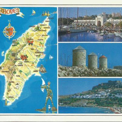 Rhodes, Island in the Aegean Sea_1