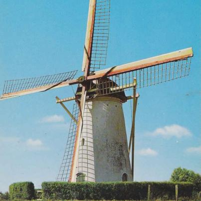 Corn Mill, Biggekerke, Holland