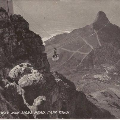 Cableway and Lion's Head, Cape Town