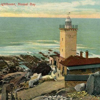 Mossel Bay light house in colour