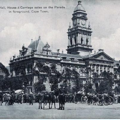 City Hall and Parade, Cape Town