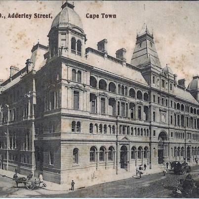 GPO, Adderley st, Cape Town