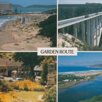 Plettenberg Bay,Bloukrans Bridge, Knysna town Square & Wilderness