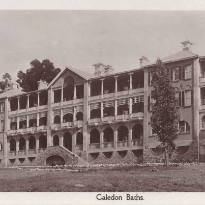 Caledon Baths Hotel at the hot water springs