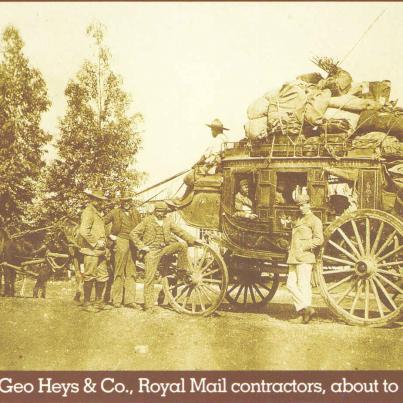 Geo Heys & Co, Royal Mail contractors, about to set off