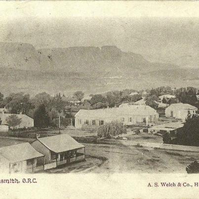 Harrismith, Orange River Colony.  South Africa 1905