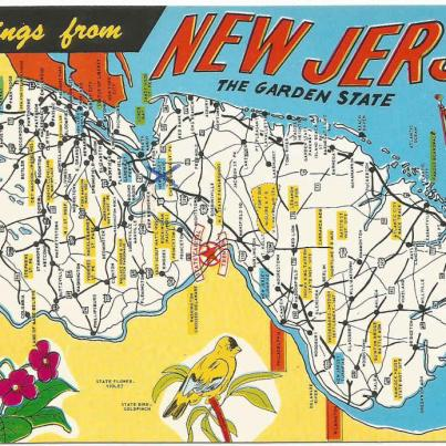 New Jersey, The Garden State. Capital TRENTON