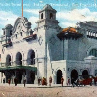 San Francisco, Southern Pacific Terminus
